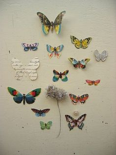 Wall butterflies