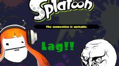 Splatoon - A lagging match