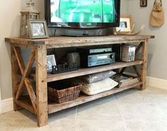 rustic-tv-console-solid-wood-tv-console-entry-table-sofa-table-entertainment-tv-cabinet-shelf-brackets-wooden-tv-cabinet-bookcase-corner-tv-cabinet-with-bookshelves.jpg 570×450 pixels