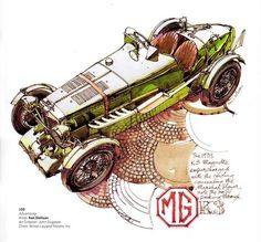 1933 MG Magnette Supercharged