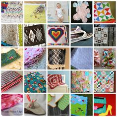 #25 DIY::  Free Beautiful Baby Blanket Tutorials!  All of these are Great !  ( And also make perfect Shower Gifts!)