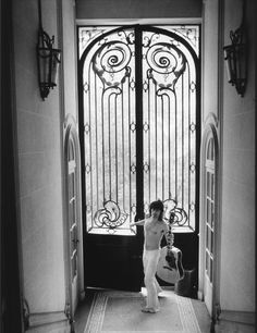 "Keith Richards ""knocking on heaven's door"", Villa Nellcote, Villefranche sur Mer by Dominique Tarle 1971"