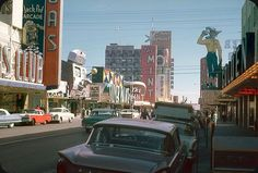Old Fremont Street late 50-s early 60s www.all-chips.com has chips for sale from all these casinos