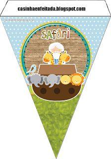 Kit para Festas - Arca de Noé