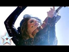 ▶ Violinist Lettice Rowbotham rocks Evanescence's Bring Me to Life   Britain's Got Talent 2014 Final - YouTube