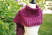 Summer moon shawl
