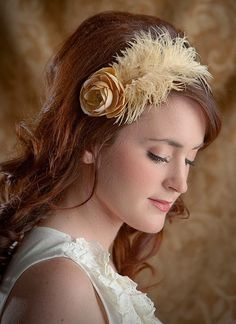 feather headband - Google Search