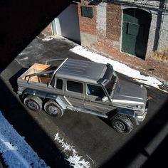Mercedes-Benz Brings G63 AMG 6x6 To The Northeast || Więcej opon całorocznych do samochodów terenowych znajdziecie tutaj http://www.opony.net.pl/opony-caloroczne.html