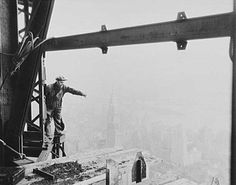 Photography Lewis Hine Work Workers Empire State Building