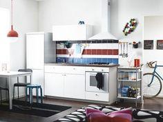 IKEA Metod   Cucina   Pinterest   Idee, Ikea e Parete attrezzata
