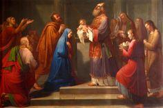 Resultado de imaxes para la presentación de jesús en el templo