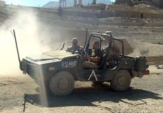 Canadian VW Iltis in Afghanistan