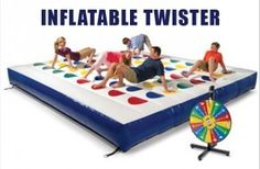 inflatable twister, christmas gifts