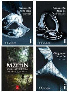 melhores livros de romance 50 tons de cinza