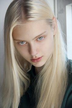 The Beauty Model Beautiful Girl Image, Beautiful Eyes, Girl Face, Woman Face, Blonde Beauty, Hair Beauty, Nastya Kusakina, Ice Blonde, Top Mode