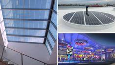 Un lucernario fotovoltaico genera energía limpia y gratuita al mismo tiempo que aporta propiedades bioclimáticas de confort térmico.