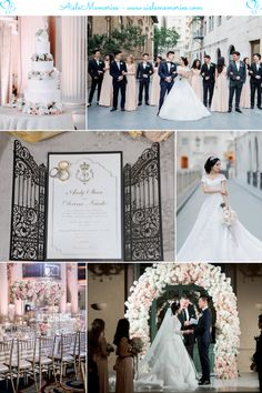 Devina-Andy Millennium Biltmore Wedding Wedding Mood Board, Wedding Blog, Wedding Planner, Our Wedding, Inspiration Boards, Wedding Inspiration, White Ball Gowns, Real Couples, Bridesmaid Dresses