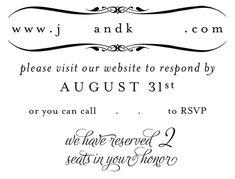 Inspiration Needed : Wedding Invitation Rsvp Rsvp Proof Online