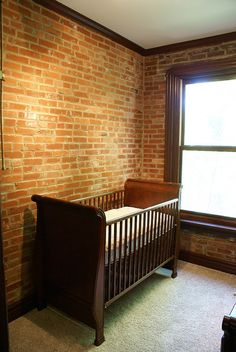 love exsposed brick walls