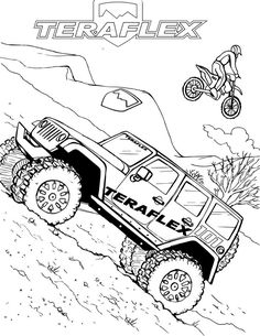 free printable jeep truck coloring pages fun with kids Jeep Safari 10 most popular jeep coloring pages for kids and adults coloring pages