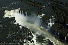 Helicopter flight above Iguazu Falls
