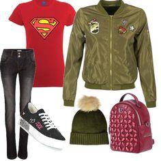 9c17412cbdc8 Ogg mi sento super cool  outfit donna Trendy per tutti i giorni