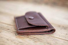 Petit PORTE-MONNAIE en cuir homme // Porte-monnaie en cuir homme // Portefeuille…