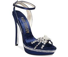 E Live From the Red Carpet Lola Platform Evening Sandals Womens Shoes Size 9 12m >>> Find out more about the great product at the image link.
