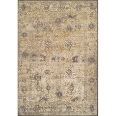 Dalyn Ivory & Gray 3' x 5' Antiquity Area Rug