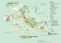Der Gurkenradweg im Spreewald | Wegbeschreibung & Karte