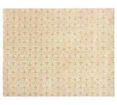 Lizzie Rug - Wheat #potterybarn 8 x 10 $450