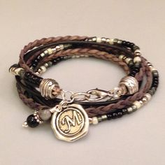 Hey, I found this really awesome Etsy listing at https://www.etsy.com/listing/220653095/beaded-boho-wrap-bracelet-3x-wrap-choose