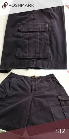 Men's Tommy Hilfiger cargo shorts Navy 9 inch inseam Tommy Hilfiger Shorts Cargo