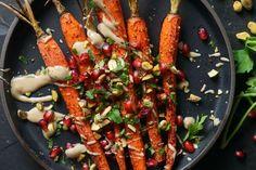 Sumac Roasted Carrots with Tahini Sauce recipe on Food52
