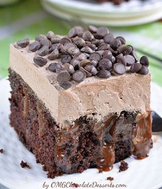 Chocolate Poke Cake - 15 Top Chocolate Cake Recipes That are Too Good for This World