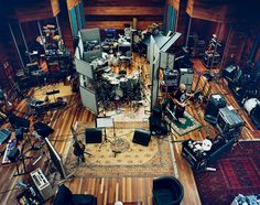 I'd love to work in a recording studio, mixing songs and creating music. Audio Studio, Music Studio Room, Sound Studio, Studio Setup, Studio Ideas, Music Rooms, Studio Desing, Workshop Studio, Red Hill Mining Town