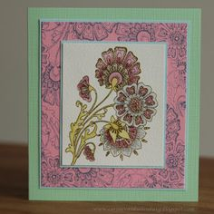 Corine's Gallery: Chocolate Baroque Pretty Poppies