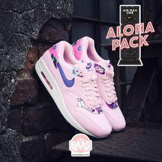 newest 58dd8 3e229  nike  nikeairmax1  nikealoha  aloha  nikeairmaxaloha  alohaairmax   sneakerbaas  baasbovenbaas Nike Air Max 1 Print