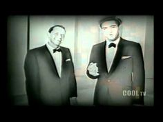 """4-1 in 1960: In Miami, Elvis Presley tapes his post-Army comeback special, Frank Sinatra's Welcome Home, Elvis TV show, also starring Sammy Davis Jr., Nancy Sinatra, Joey Bishop, and Peter Lawford. Elvis sings """"Fame And Fortune"""" and """"Stuck On You,""""  - Frank and Elvis do a duet of Frank's song Witchcraft and Elvis' Love Me Tender - here's that latter song."""