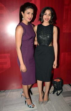 All for women: Priyanka Chopra, Freida Pinto in Delhi for Girl Rising
