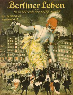 """Titelseite der Zeitschrift """"Berliner Leben"""", 1921. (Foto: © Linge Berlin/Archiv Paysan)"""