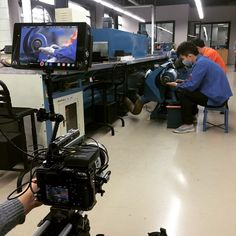 """#filming #luxury #shoes making #dongguang #cameraporn #sony #a7s #movcam #canon #70/200 #atomos #shogun #china"""