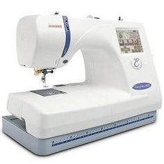 Janome Memory Craft 300E Computerized Embroidery & Sewing Machine