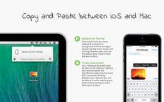 Copier-Coller entre son Mac et votre iPhone ou iPad ? C'est possible !