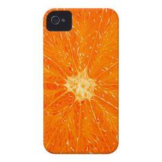 ORANGE Case-Mate iPhone 4 CASES