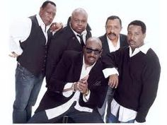 The Temptations (The Modern Five) Otis Williams, Ron Tyson, Terry Weeks, Joe Herndon and Bruce Williamson Jr.