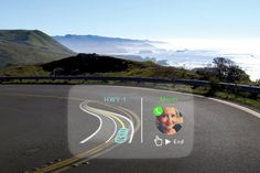 This tiny projector puts smartphone apps on your car's windshield