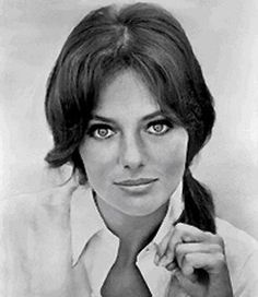 Jaqueline Bisset-always thought she was such a great beauty...beautiful portrait of her <3