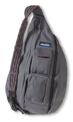 Amazon.com : KAVU Rope Bag, Black, One Size : Sports & Outdoors I Would like this in CHARCOAL as pictured