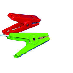Corral Crocodile Clips Pair of crocodile clips 1 x red 1 x green for general spare replacement Electric Fencing, Crocodile, Green, Crocodiles